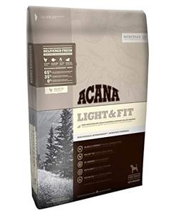Saco de pienso de la marca Acana receta Light and Fit