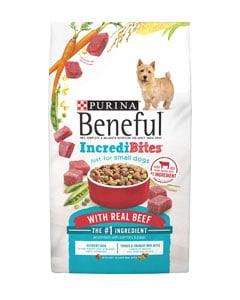 Paquete alimenticio para mascotas caninas