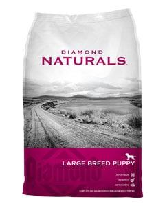 Saco de pienso para cachorros de la marca Diamond Naturals