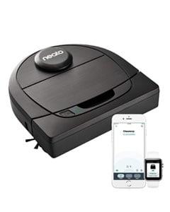 Robot aspirador, móvil y reloj con App para control remoto