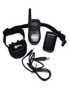 Collar, mando y cable USB