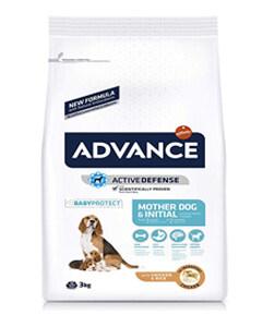 Saco de pienso de la marca Advance receta para perras madres