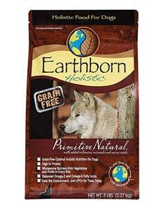 Saco de pienso marca Earthborn