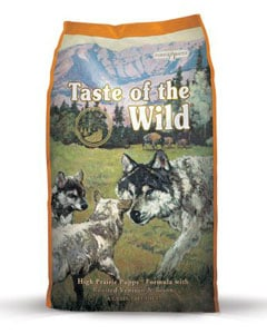 Saco de pienso de la marca Taste of the Wild