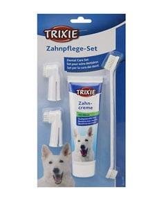 Pasta de dientes con accesorios de limpieza para perros