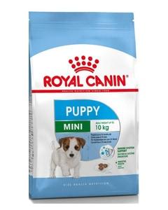 Saco de pienso marca Royal Canin para cachorros de raza pequeña