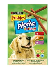 Paquete de snacks para perros