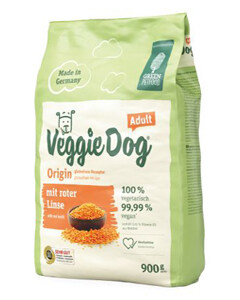 Saco de pienso vegetariano para perros Greenpetfood VeggieDog Origin sin gluten