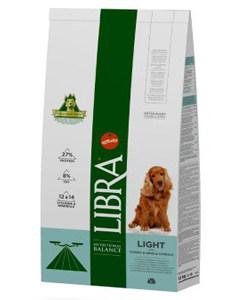 Saco de pienso para perros de la marca Libra