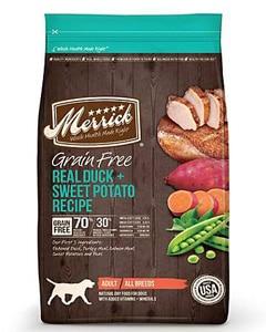 Saco de pienso Merrick con receta de pato y patata dulce