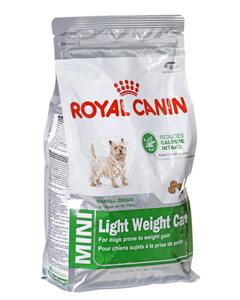 Saco de pienso light Royal Canin para perros pequeños