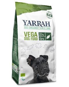 Saco de pienso para perros veganos de la marca Yarrah